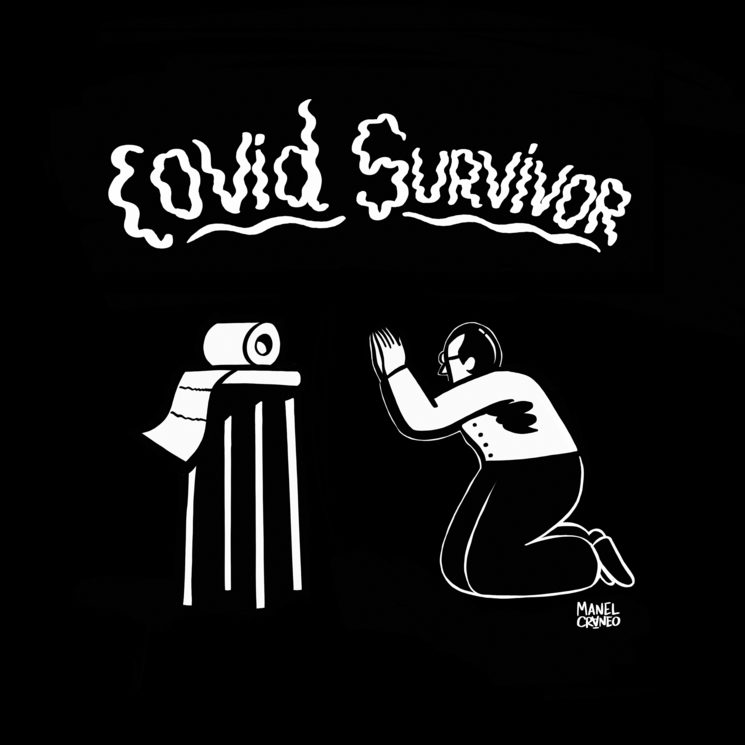 Covid Survivor black