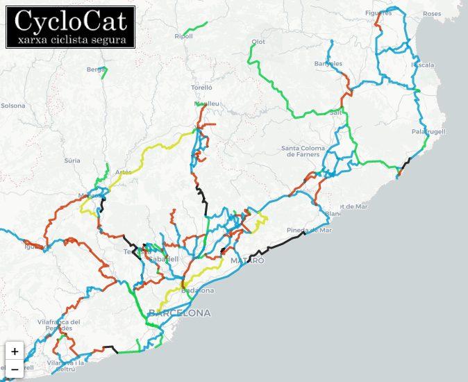 Xarxa ciclista segura CycloCat