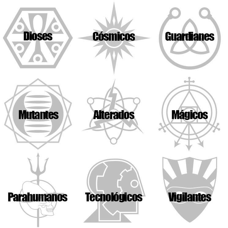 Orígenes Metahumanos… y sus símbolos