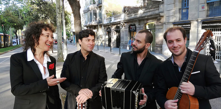 Sandra Rehder, Rubén Martínez, Pablo Yamil and Pablo Martorelli