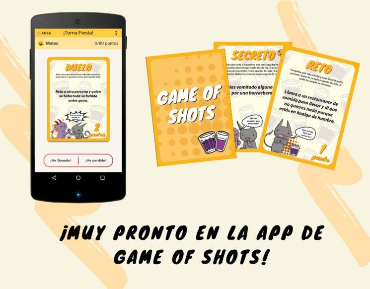 Finalmente no ha podido ser… ¡pero la fiesta sigue en la app de Game of Shots! 😁