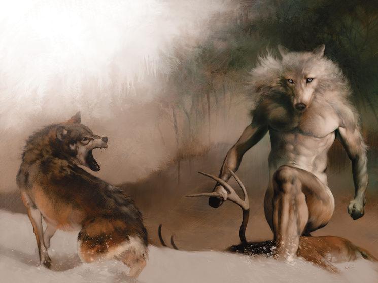 Los hombres lobo son fieros por naturaleza, pero su lealtad está fuera de toda duda.