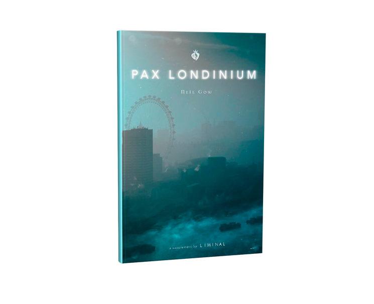Portada de la edición inglesa de Pax Londinium.