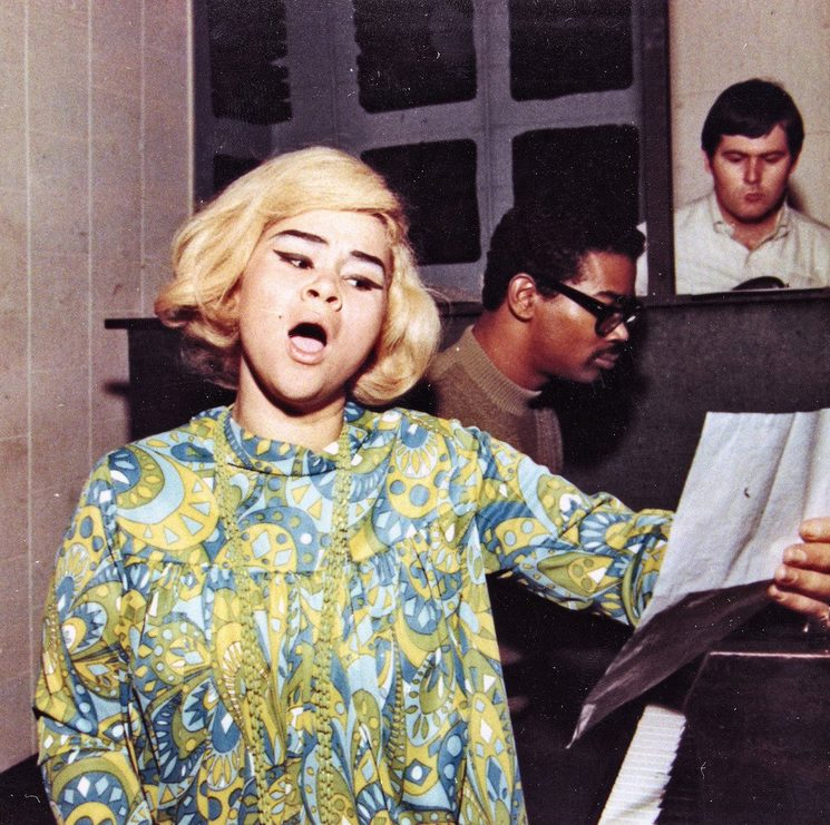 Etta James (recording at Fame Studios, 1967)