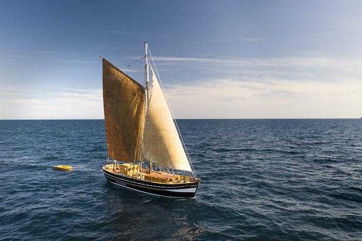 """The """"Ría de Ferrol"""" sailing in the Mediterranean"""