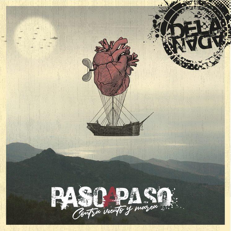Portada nuevo disco realizada por César Blay y complementada con tipografía y logo por Rubén Aparici