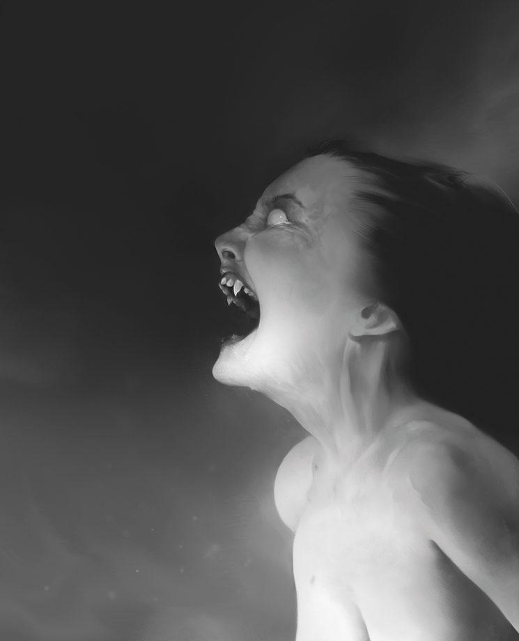 Los vampiros son muy peligrosos en Liminal, incluso si son neonatos.