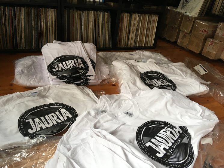 Camisetas en camino