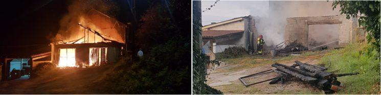 Incendio no obradoiro - madrugada do día 12 de xuño