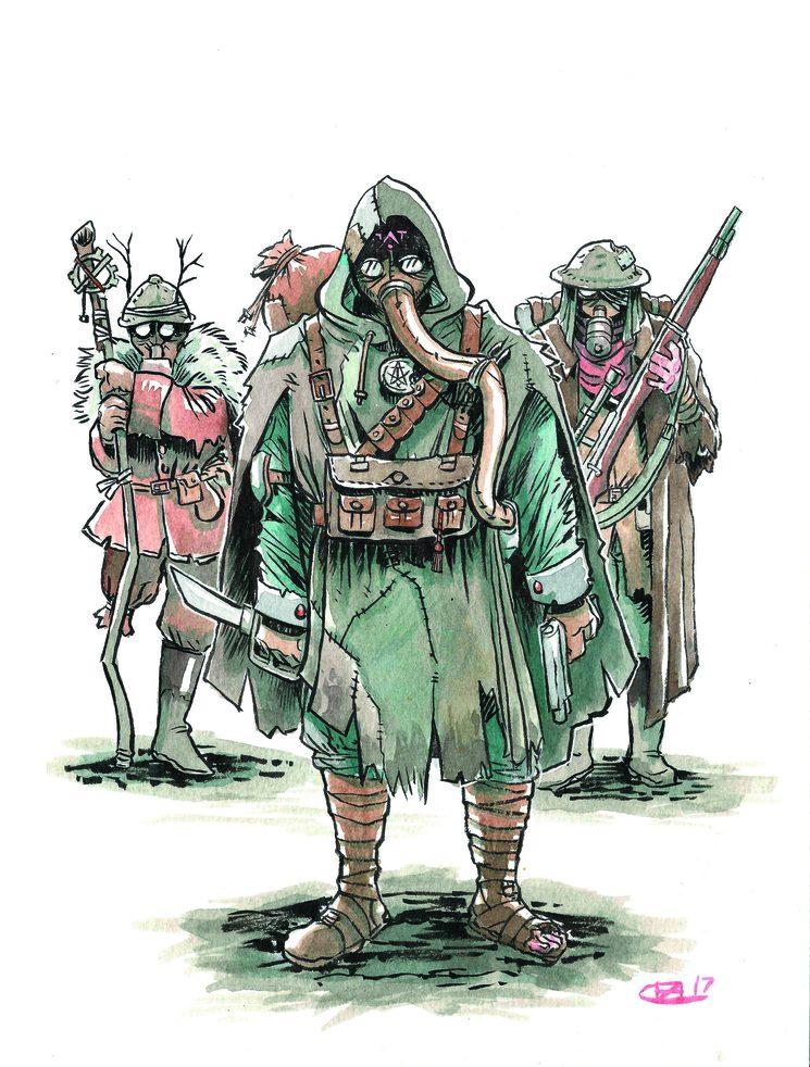 Tras permanecer oficialmente desaparecidos en el interior del bosque de Bellau durante dos semanas, la unidad del sargento Morris regresó. Pocos se atreverían a decir que eran los mismos hombres que salieron de exploración unos días antes...