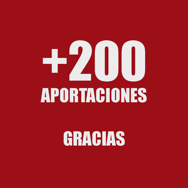 + 200 de aportaciones