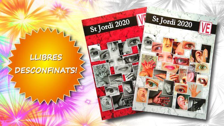 Llibres de Sant Jordi desconfinats!
