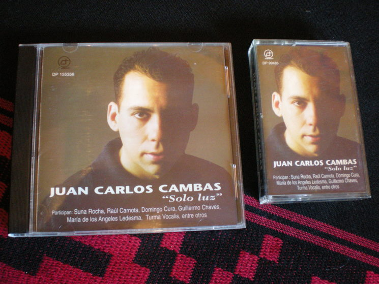 CD + Cassette: Solo luz / Argentina 1997