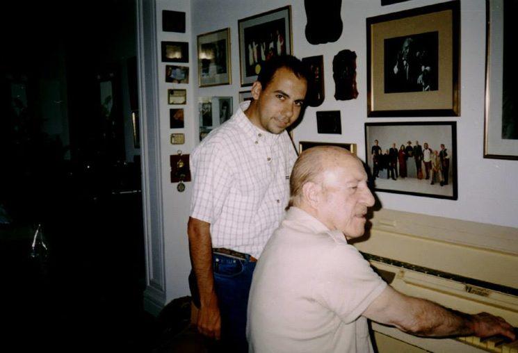With Adolfo Ábalos in Mar del Plata