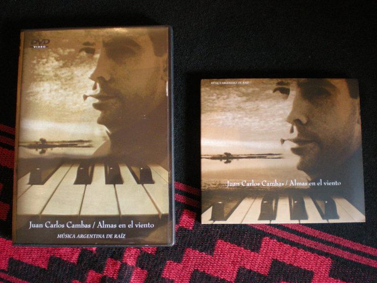 """CD + DVD """"Souls in de Wind / Argentine World Music"""" / Spain 2007"""