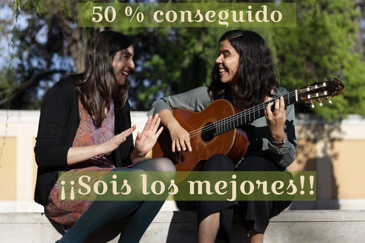 50 % conseguido!!
