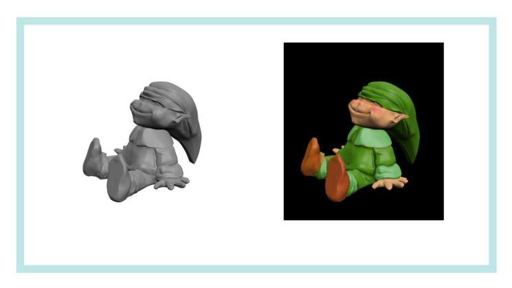 Primeros ensayos de figuras 3D