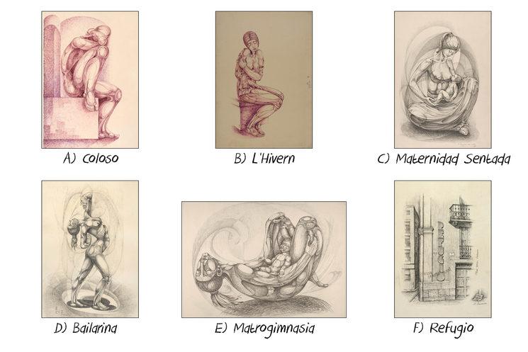 Láminas de Dibujo de Josep Tello
