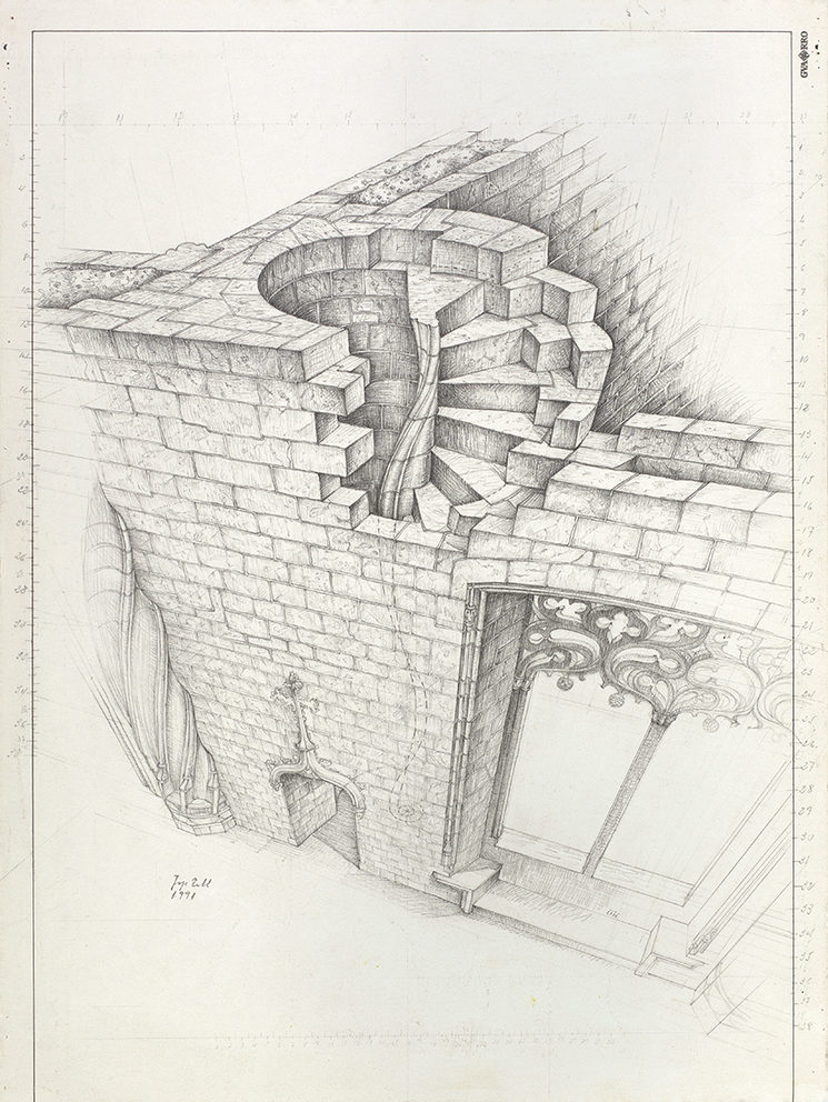 Escala de Caracol, Perspectiva Conica - Josep Tello Andrés (1991)