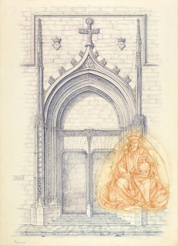 Porta de L'Engonari - Josep Tello Andrés (1995)