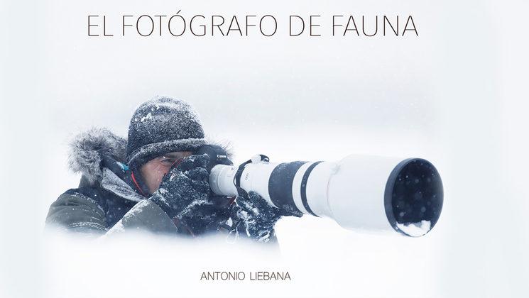 "Portada del libro ""El fotógrafo de fauna"""