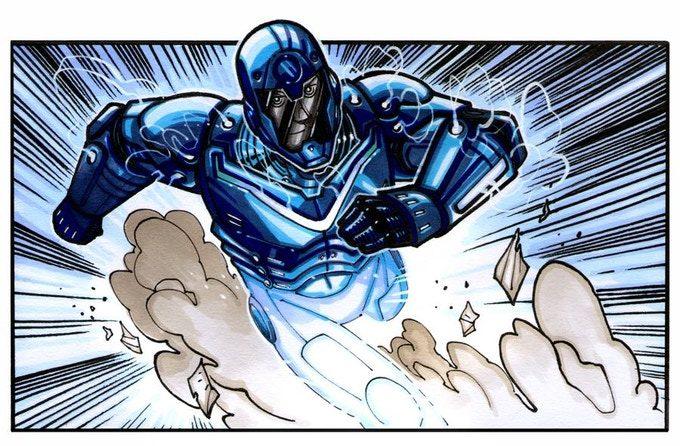 Ryker Swift, alias Velocity, otro de los miembros de Sentry Force Prime