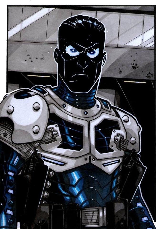 Darklight, uno de los villanos icónicos del Gallantverso