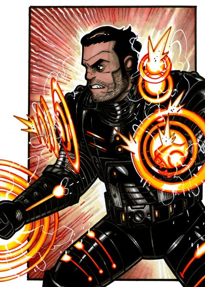Shatterwave, el malvado hermano de Pulsewave