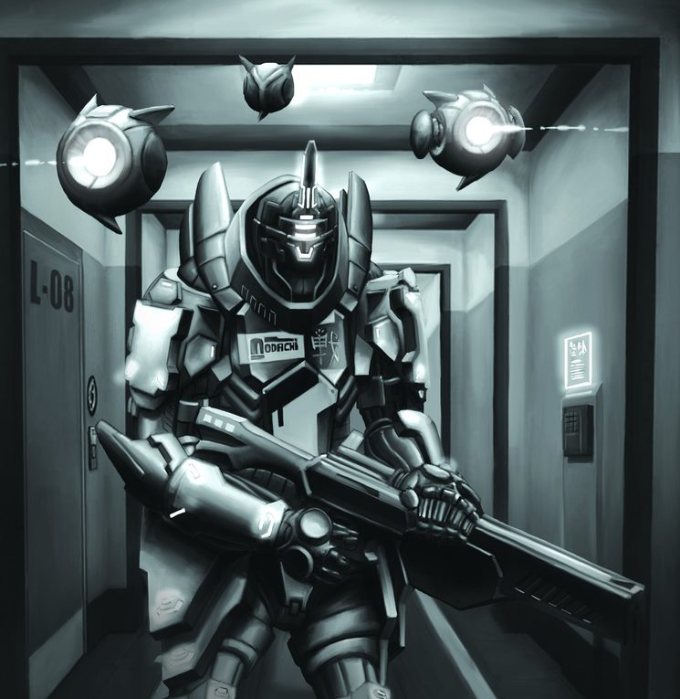 La capacidad de infiltración es necesaria para algunas misiones de los Knight
