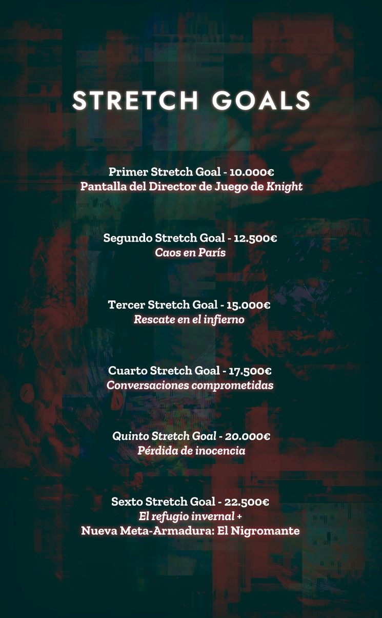Todos los Stretch Goals con sorpresa final