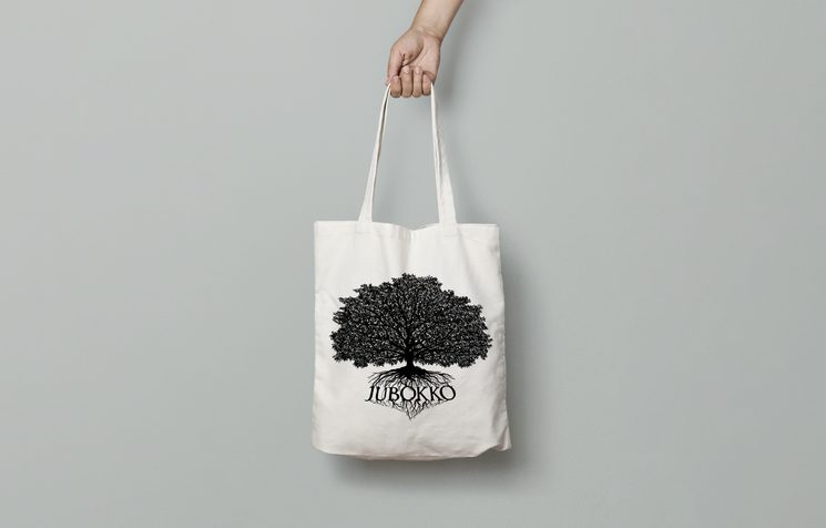 Diseño provisional de la bolsa de tela