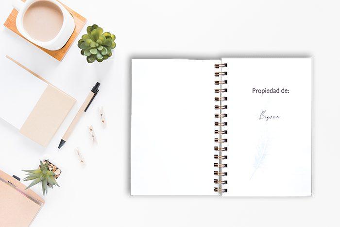 Personalización de la primera página