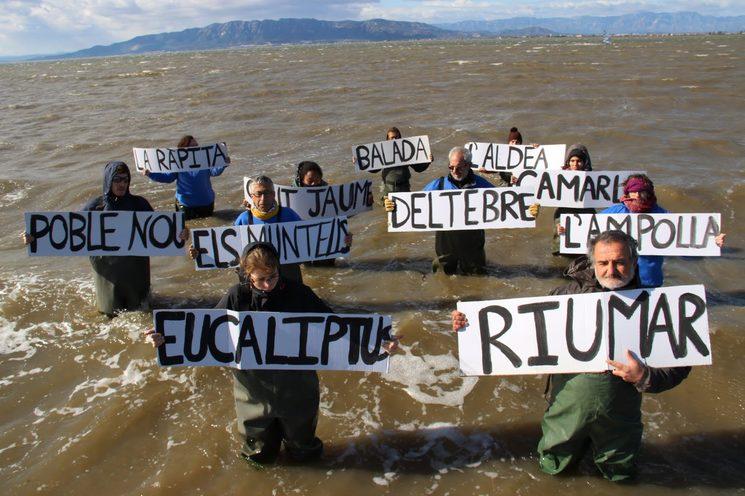 Acció reivindicativa Campanya pels sediments