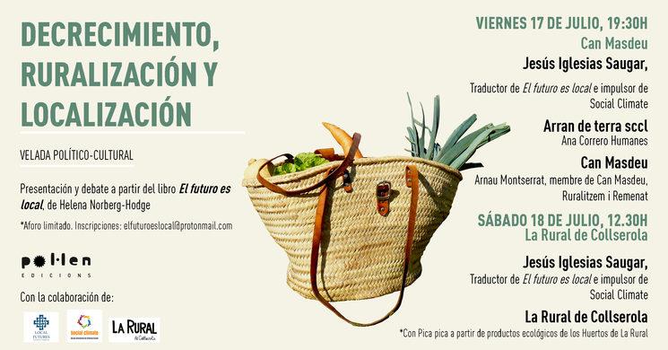 Actos Barcelona, 17 y 18 de julio