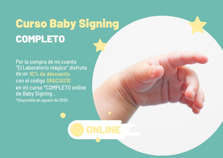 Descuento Curso online completo de Baby Signing - Sincerely Be