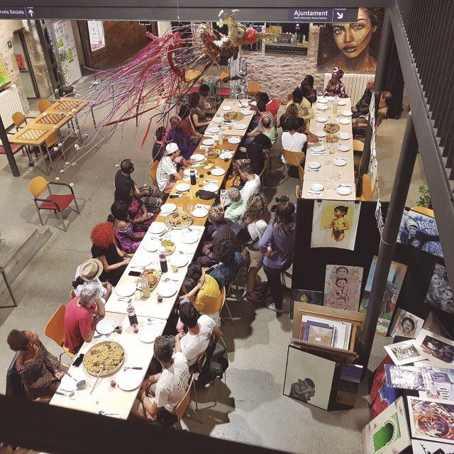 Acollida artistes amb menjars del món - #1a EDICIÓ monar