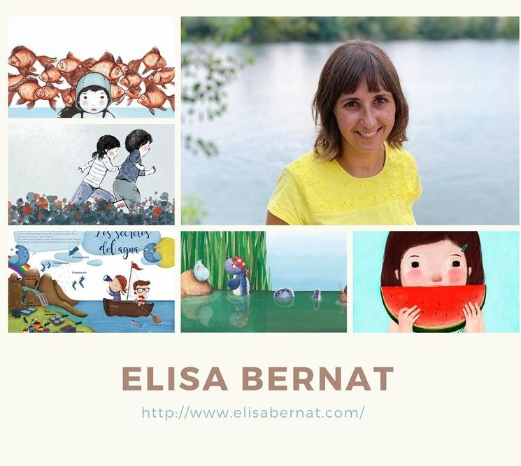 Elisa Bernat, il·lustradora de Riu amunt, riu avall