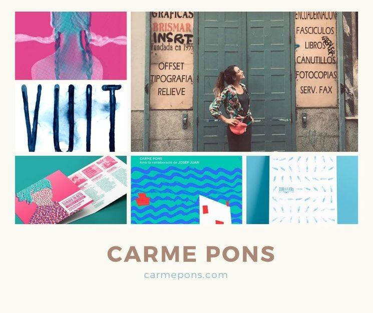 Carme Pons, il.lustradora i esciptora d' Un riu de xocolate