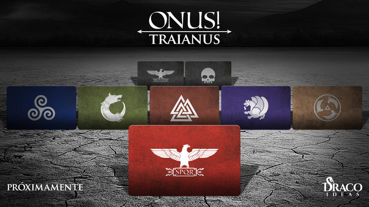 ONUS! Traianus más cerca y ¡camisetas de las facciones disponibles!