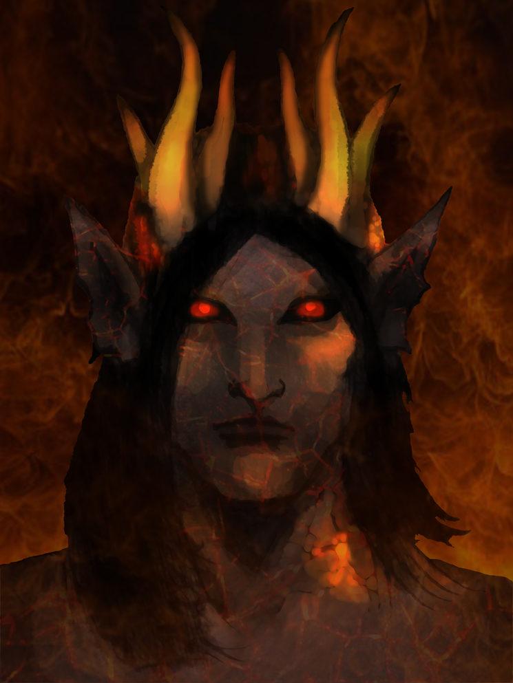 Morakdiel, la Reina Demonio.