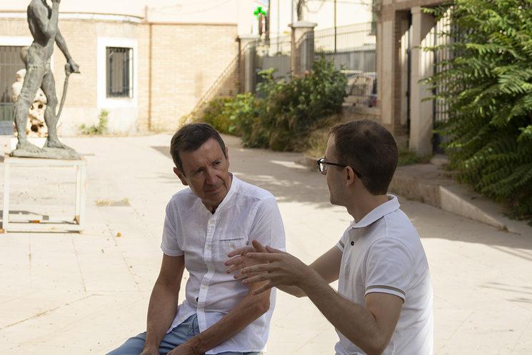 Entrevista a Isidoro Otero, director del IES Luis Barahona de Soto