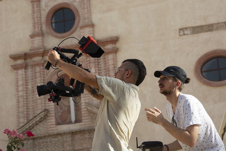 Parte del equipo de Fractal Films