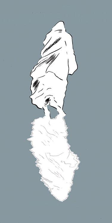 ¡Es un fantasma!