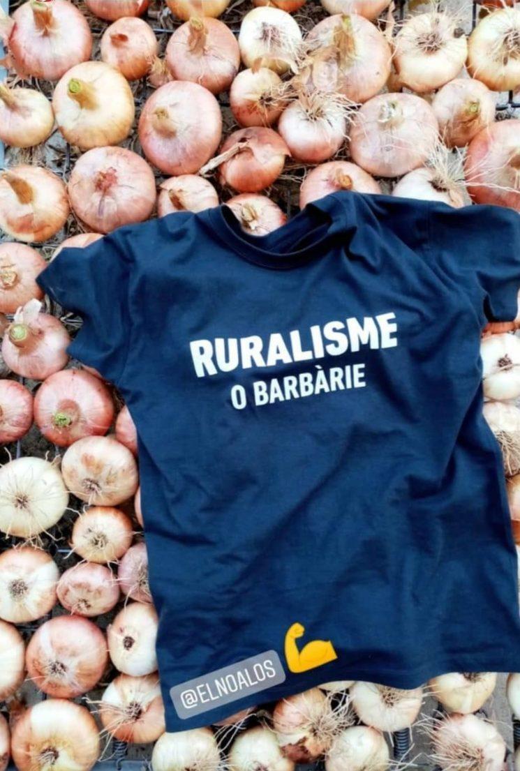 "Samarretes ""Ruralisme o Barbàrie"""