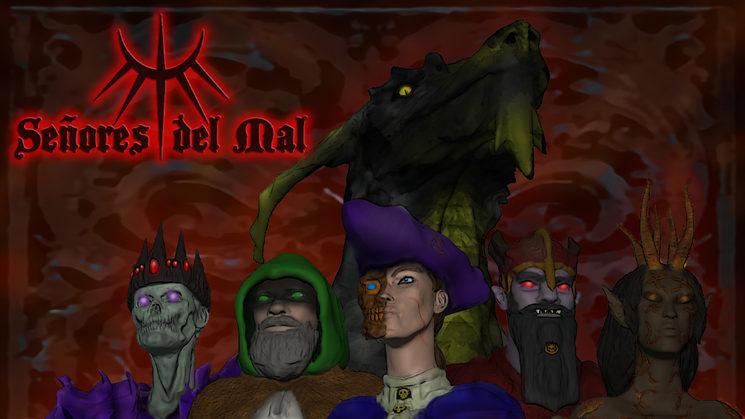 Los 6 Señores del Mal lucharán por conquistar los Reinos de Aher