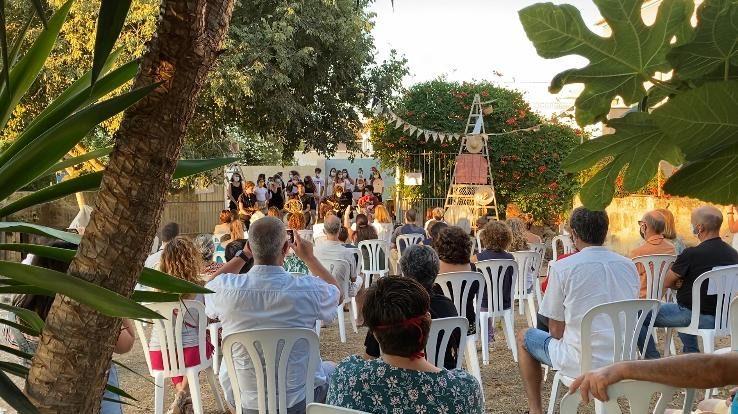 """Navegant fora rumb"" en Sa Talaia. Junio 2020"