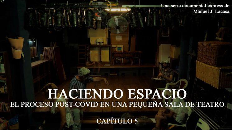 """Documental """"Haciendo Espacio"""" de Manuel J. Lacasa"""