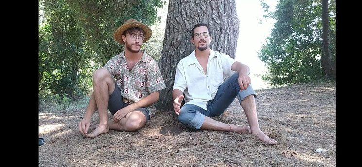 Joel y Nico, impulsores del proyecto