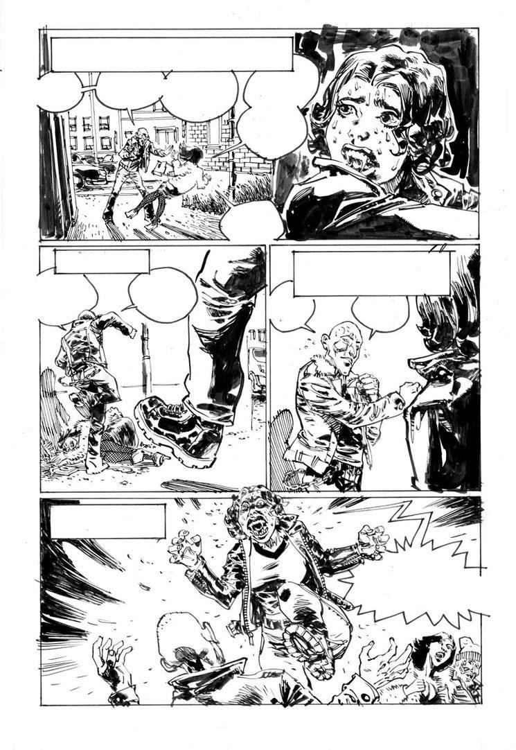 """Página original (10) del cómic """"La primera vez"""""""