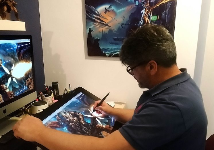 Ángel Luis Sánchez realizará una ilustración personalizada si escoges su recompensa